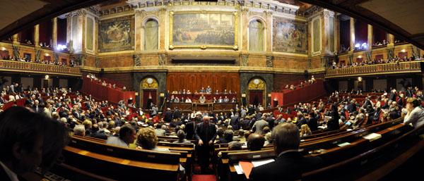 Le Congrès du Parlement à Versailles le 21 juillet 2008