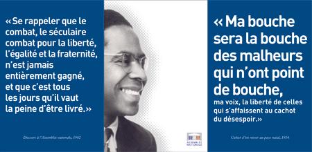 Assemblée Nationale Avril 2008 Hommage à Aimé Césaire