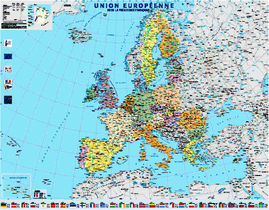 carte europe ign