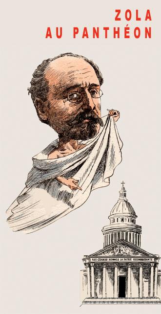 Zola au Panthéon