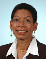 Official government publicity photo of George Pau Langevin taken from her profile on the website of the French National Assembly (http://www.assemblee-nationale.fr/)