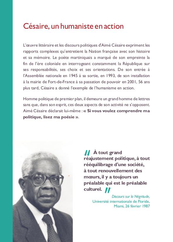 Centenaire De La Naissance Daimé Césaire Assemblée Nationale