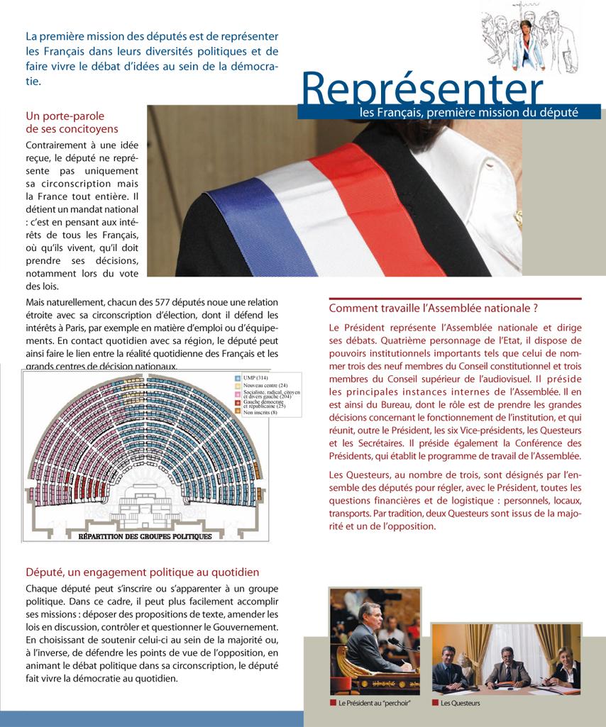 Assembl e nationale bienvenue l 39 assembl e nationale - Bureau de l assemblee nationale ...