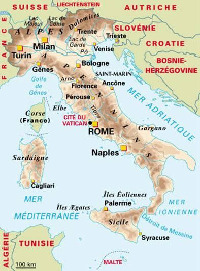 Dissertation Geographique Sur L Italie