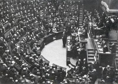 Présentation du premier Ministère Léon Blum 6 juin 1936