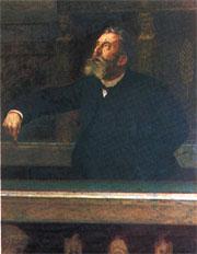 Jean Jaurès à la tribune