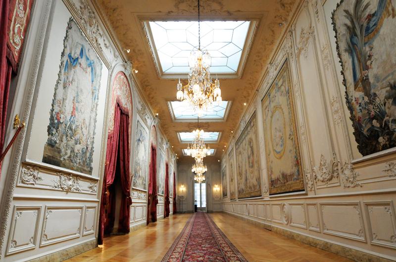 H tel de lassay la galerie des tapisseries - Galerie nationale de la tapisserie beauvais ...