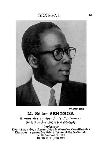 Leopold Senghor et la negritude