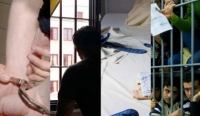 Montage de 4 photographies sur la prison - Source : Conseil de l'Europe
