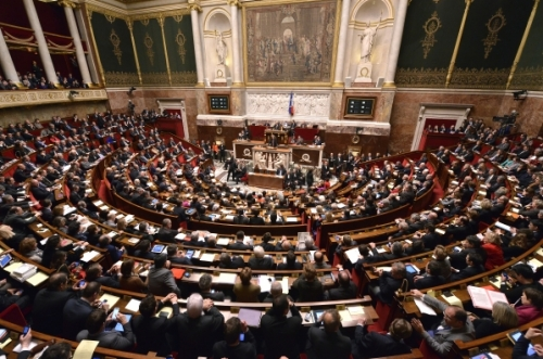 L'hémicycle plein pendant un vote solennel - Source: Thinkstock
