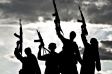 Silhouettes de terroristes - Source: Thinkstock