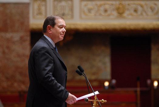 M. Patrick Ollier, Président de l'Assemblée nationale