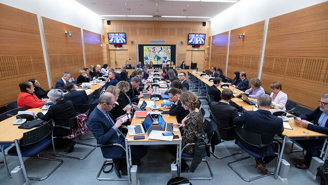 Réunion de la commission des affaires culturelles - février 2020