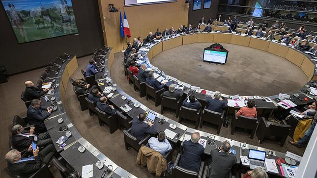 Réunion de la commission des affaires étrangères en salle Lamartine - 2